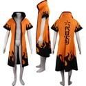 Naruto Rokudaime Hokage Cosplay Cloak Costume