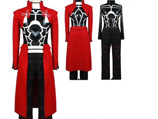 Fate Stay Night Archer Cosplay Costume