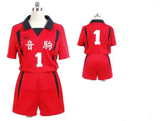 Haikyuu! Tetsuro Kuroo Nekoma High School Cosplay Uniform Costume