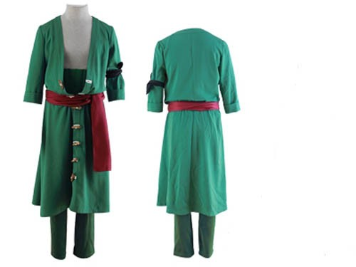 One Piece New World Zoro Cosplay Costume