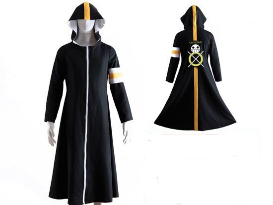 One Piece Corizon Trafalgar Law Cosplay Cloak Jacket