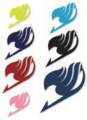 Fairy Tail Symbol Temprary Tattoo Set