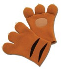 Code Geass Nina's Tiger Plush Gloves