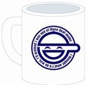Ghost in the Shell Laughing Man Cospa Mug Cup