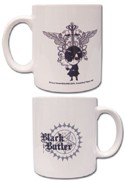 Black Butler White Coffee Mug Cup