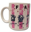 Fate Zero Chibi Servants Coffee Mug Cup
