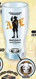 One Piece Ace Beer Glass Mug Cup