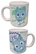 Fairy Tail Happy Coffee Mug Cup