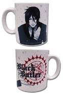 Black Butler Sebastian White Coffee Mug Cup