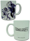 Dragonball Z Metal Freeza and Trunks Coffee Mug Cup