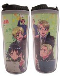 Hetalia Axis Powers Green Tumbler Coffee Mug Cup
