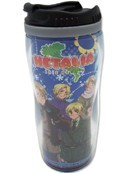 Hetalia Axis Powers Blue Tumbler Coffee Mug Cup