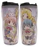 Puella Magi Madoka Magica Sketched Group Coffee Mug Tumbler