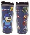 Megaman Pixelated Tumbler Coffee Mug Cup