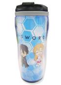 Sword Art Online Chibi Tumbler Coffee Mug Cup