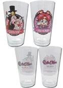 Sailor Moon Tuxedo Mask and Chibi-Moon, Chibi Chibi Glass Cup Set