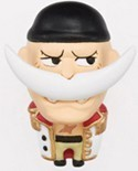 One Piece White Beard Chara Mascot Fastener