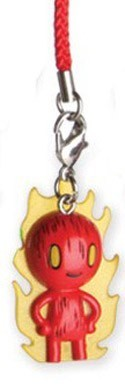 Tokidoki X Marvel Human Torch Frenzies Fastener Charm