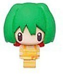 Macross Frontier Chara Mascot Fastener Charm Ranka Yellow Dress