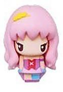 Macross Frontier Chara Mascot Fastener Charm Sheryl Pink Costume