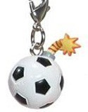 Tokidoki Frenzies Fastener Charm Soccer Bomb