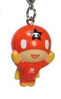 Tokidoki Frenzies Fastener Charm Red Guy w/ Cape