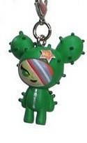 Tokidoki Frenzies Fastener Charm Green Cactus Girl