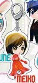 Vocaloid Meiko Secret Project Mirai Fastener Charm