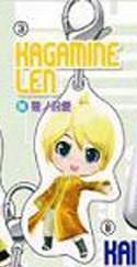 Vocaloid Miku Len Project Mirai Fastener Charm
