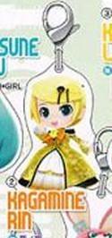 Vocaloid Miku Rin Project Mirai Fastener Charm