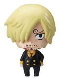 One Piece New World Sanji Chara Fortune Fastener Mascot Charm