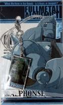 Fullmetal Alchemist Al Metal Fastener Charm