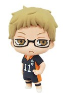 Haikyuu! Tsukishima Kei Color Collection Fastener Mascot Charm