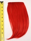 Long Bangs - Scarlet Red