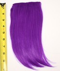 Long Bangs - Indigo Purple