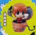Gintama Petit Chara Land Kagura Empty Rice Figure