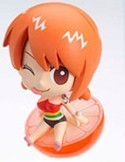 One Piece Petit Chara Land 3'' Figure Nami Orange