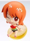 One Piece Petit Chara Land 3'' Figure Nami Grapefruit