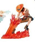 One Piece 3'' Ace Action Pose Figure