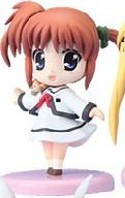Magical Girl Lyrical Nanoha 3'' Figure Nanoha Uniform
