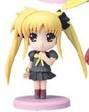 Magical Girl Lyrical Nanoha 3'' Figure Fate Uniform Fist
