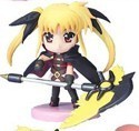Magical Girl Lyrical Nanoha 3'' Figure Fate Transformed Action