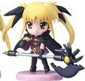Magical Girl Lyrical Nanoha 3'' Figure Fate Transformed