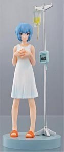 Neon Genesis Evangelion 4'' Portrait Figure Rei Hospital