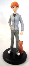 Fruits Basket 6'' Kyo Statue Figure Grey