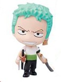 One Piece 3'' Deformaster Series 1 Trading Figure Zoro