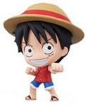 One Piece 3'' Deformaster Series 1 Trading Figure Luffy Punching