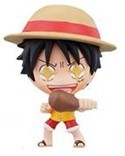 One Piece 3'' Deformaster Series 1 Trading Figure Luffy Eating