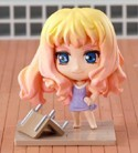 Macross Frontier Petit Chara Land 2'' Sheryl Purple Dress Figure