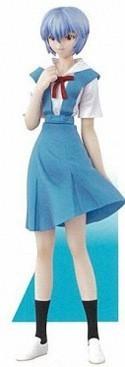 Neon Genesis Evangelion 4'' Rei Uniform Portraits 8 Figure